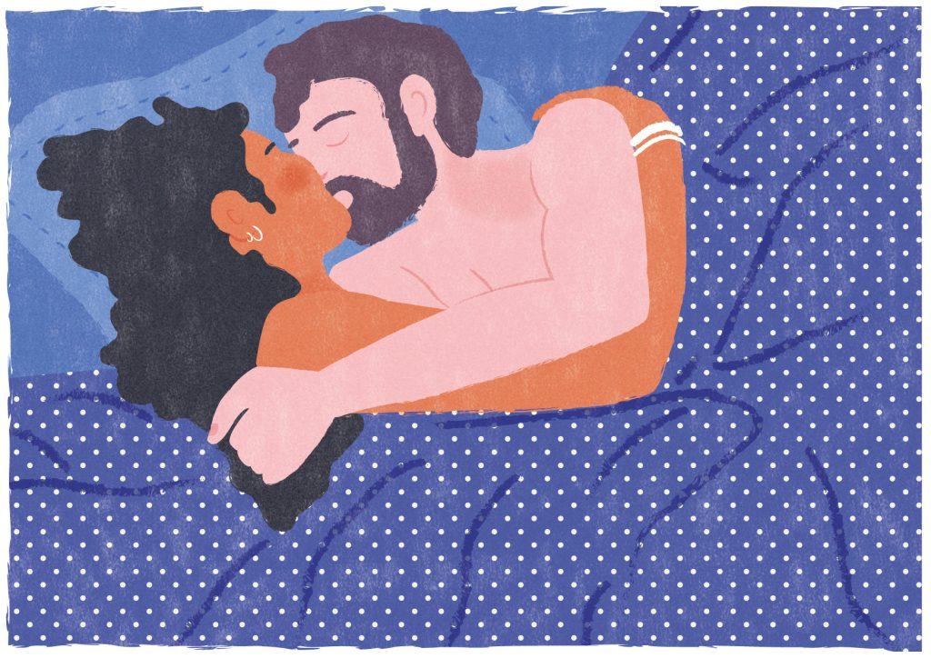 le baiser Mathilde Valero illustration