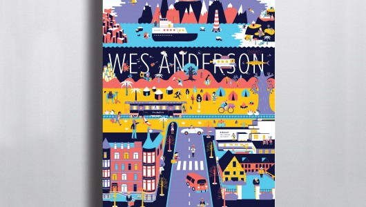 Mathilde Valero - Wes Anderson Poster